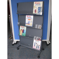 DELUXE NEWSPAPER/MAGAZINE RACK
