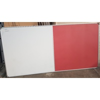 DUAL PINK FOAM/WHITEBOARD