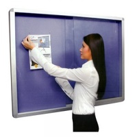 BLUE FOAM NOTICEBOARD CABINET