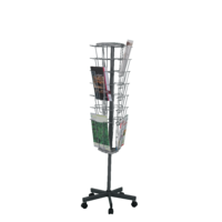 ROTATING MAGAZINE MOBILE STAND