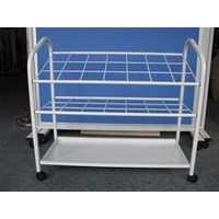 UPRIGHT STORAGE TROLLEY