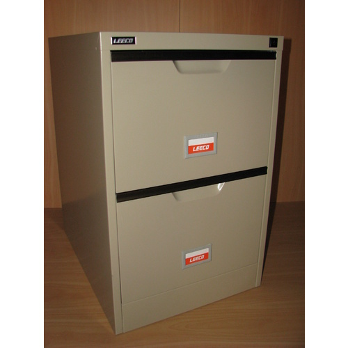BEIGE 2 DRAW FILING CABINET
