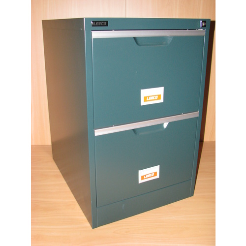 DKGREEN 2 DRAW FILING CABINET