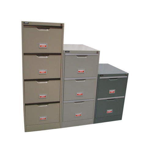 BLUE 3 DRAW FILING CABINET